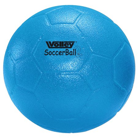 Volley Size 5 SuperSkin-2 Foam Medium Bounce Soccer Ball, Blue