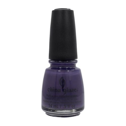 China Glaze 0.5oz Nail Polish Lacquer Clay Purple, QUEEN B, B 81356