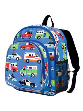 Wildkin Heroes Blue 12 Inch Insulated Front Pocket Kids Backpack