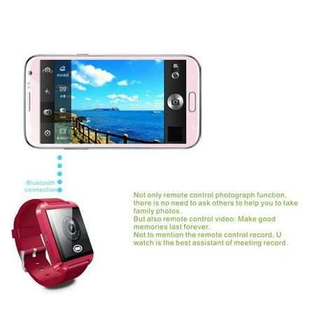 Smart Wrist Watch Phone Camera Card Mate Universal For Smart Phone - image 7 of 8