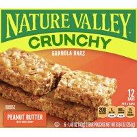 Nature Valley Granola Bars, Peanut Butter, 8.94 oz