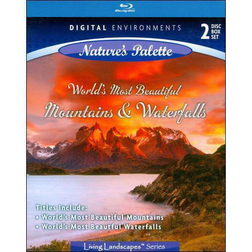 Living Landscapes: World's Most Beautiful Mountains / World's Most Beautiful Waterfalls (Blu-ray) (Widescreen)