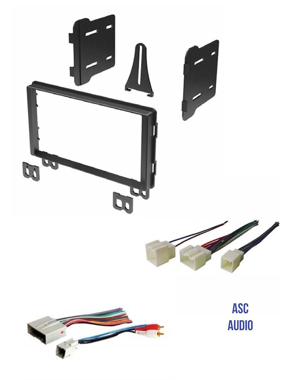 Double Din Car Stereo Radio Install Dash Kit And Wire