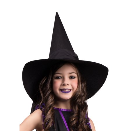 Child Witch Hat with Bow](Kids Witch Hat)