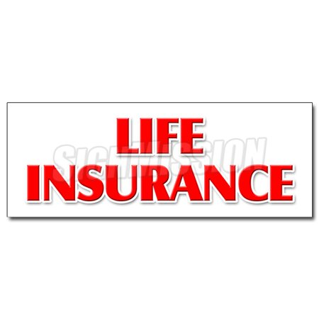 48   Life Insurance Decal Sticker Financial Income Quotes Terms Servicews