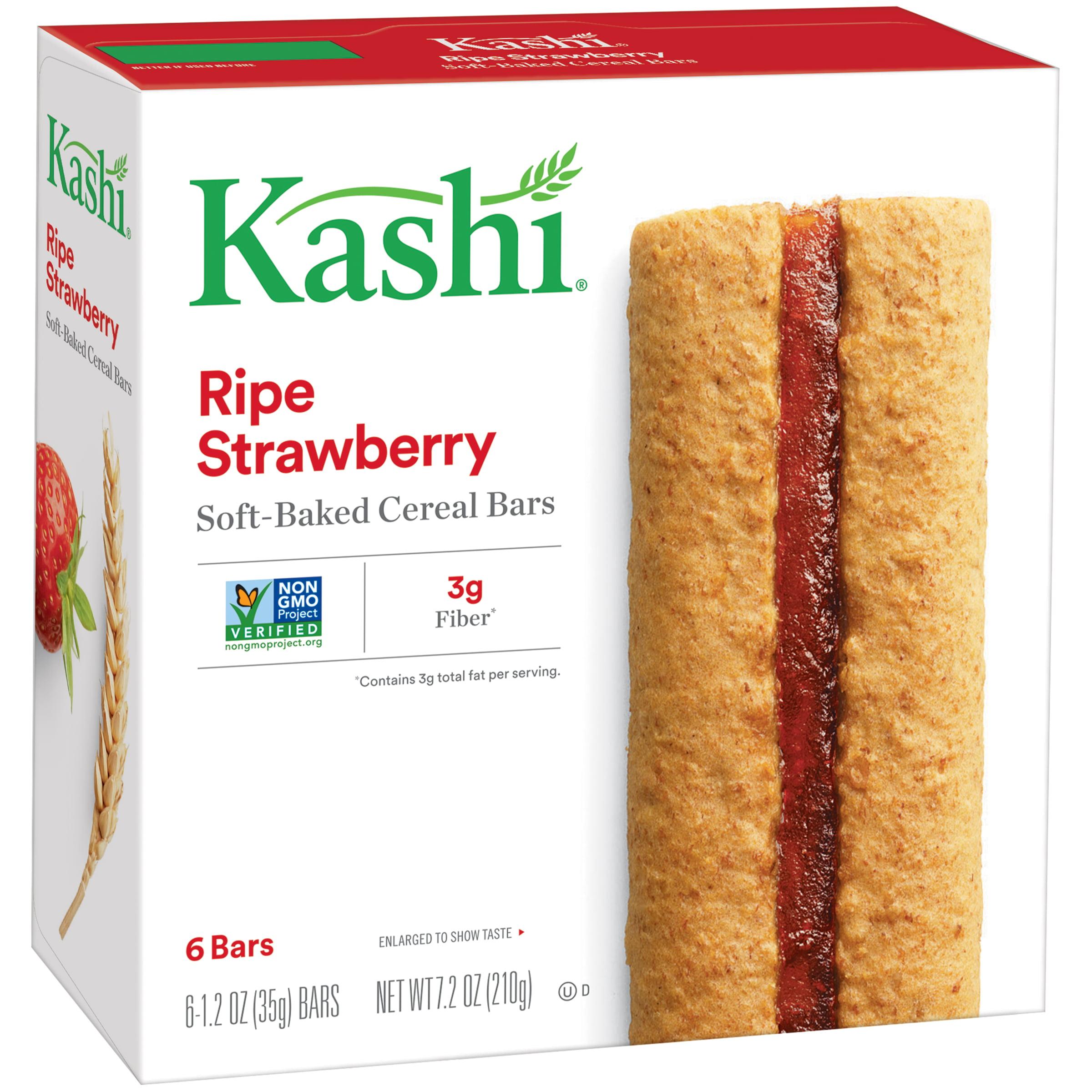 Kashi�� Ripe Strawberry Soft-Baked Cereal Bars 6-1.2 oz. Bars
