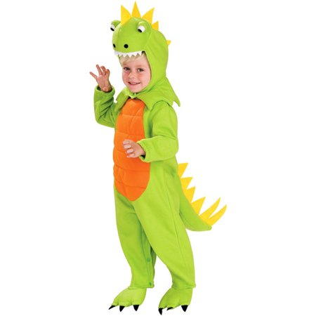 Dinosaur Toddler Halloween Costume (Homemade Spongebob Halloween Costume)