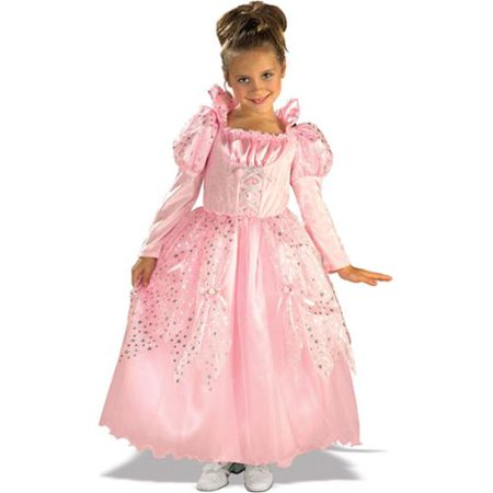 Pretty Princess Girls Pink Fairytale Birthday Party Fancy Halloween Costume (Halloween Costumes Pink)