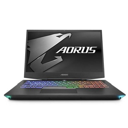 Gigabyte AORUS 15-X9-RT4BD 15.6 in. Intel Core i7-8750H 2.2GHz 16GB DDR4 2TB HDD Plus 512GB Solid State Drive RTX 2070 USB 3.1 Windows 10 Home Ultrabook - image 1 of 1