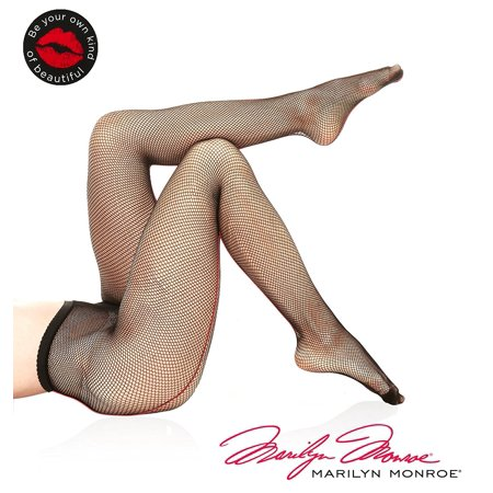 Marilyn Monroe Women Seamless Fishnet Pantyhose Tights Stockings Small Medium (Marilyn Monroe Stockings)