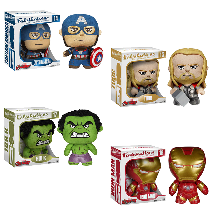Funko Fabrikations Soft Sculpture Avengers Age of Ultron SET OF 4 by Funko