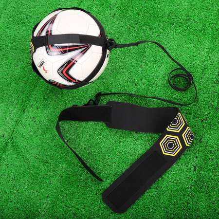 Solo Soccer Trainer Soccer Ball Kick Training Practice Assistance Trainer Adjustable Belt - image 2 of 7