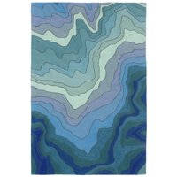 Product Image Liora Manne Ravella 2267 03 Mykonos Water Area Rug 7 Feet 6 Inches X 9