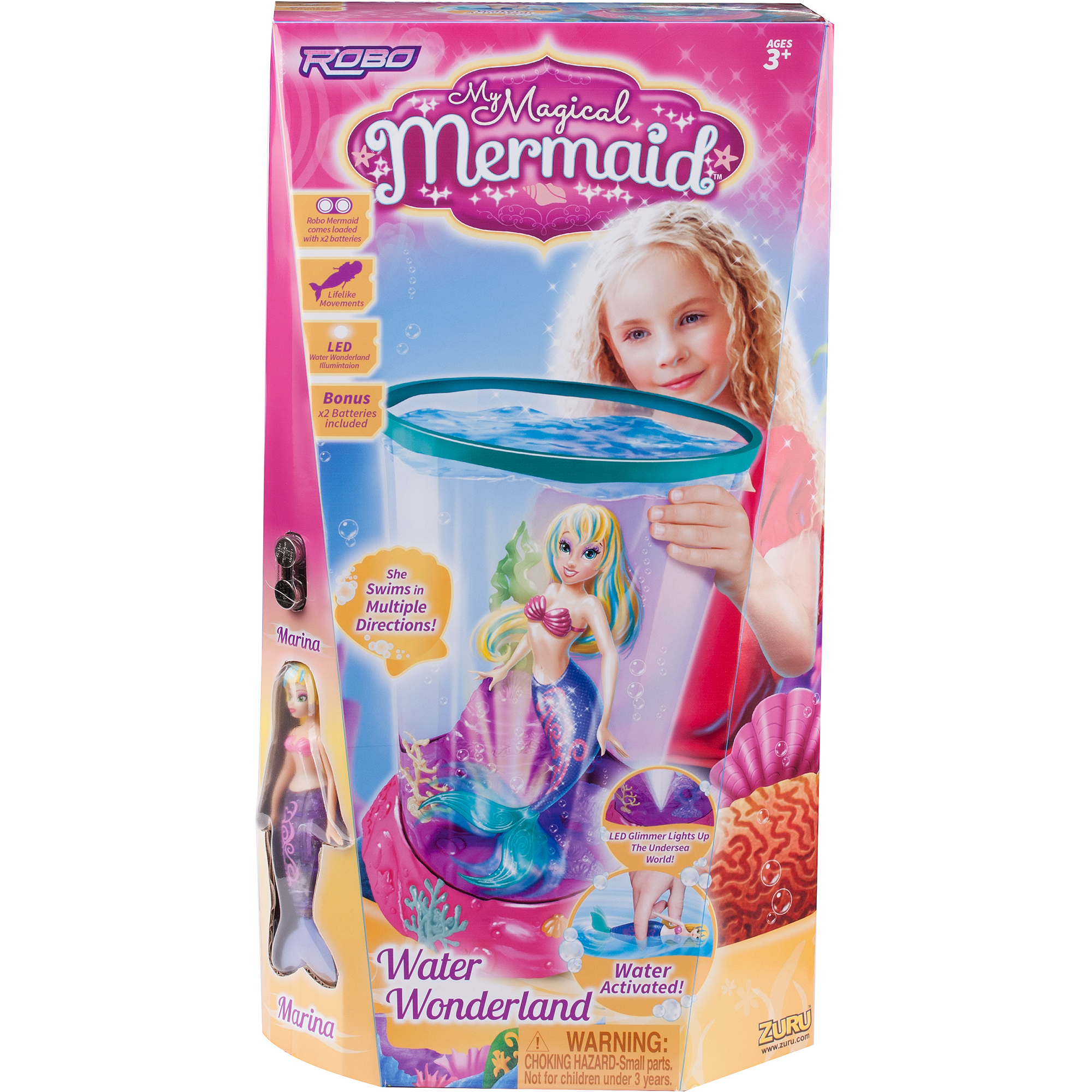 Magical Mermaid Playset Walmartcom