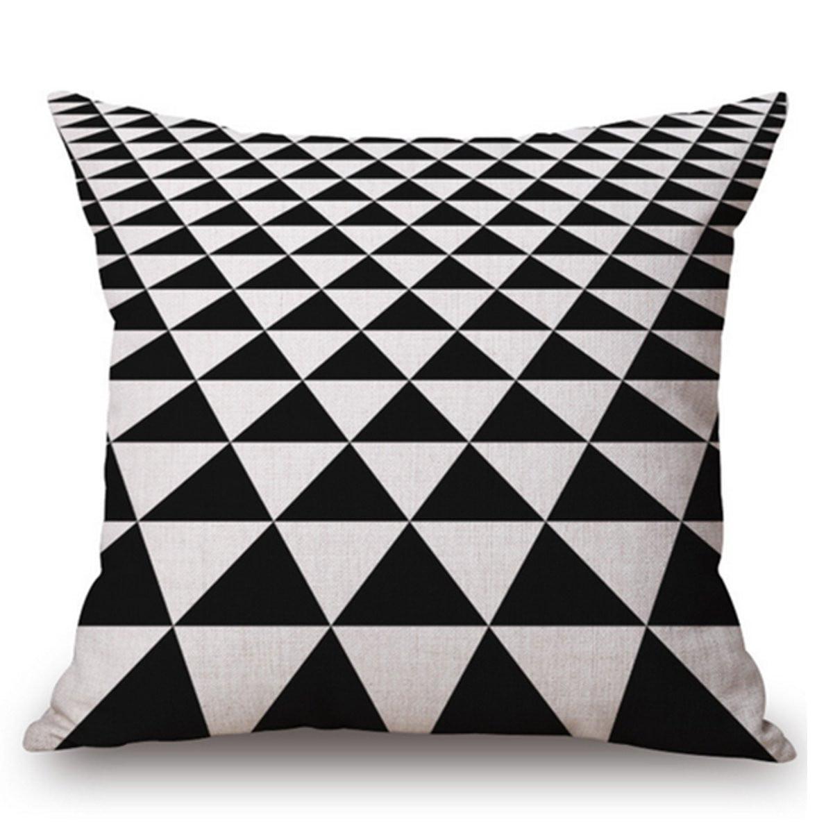 Cushion Cover Decorative Girls New Décor Pillow Home Linen Waist Retro Sofa Case
