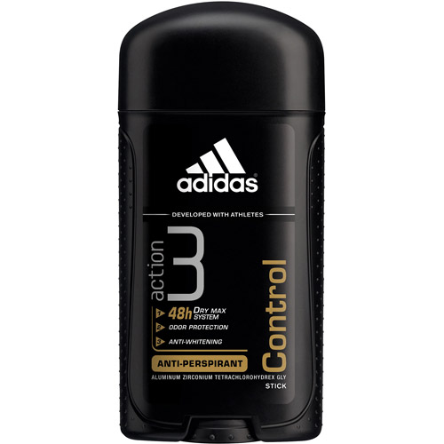 Adidas 3 Action Anti-Perspirant Control Hygiene, 2.8 oz