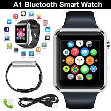 Hot Sell Latest styles A1 Bluetooth Smart Watch Sport Wrist Watch for Apple iPhone Samsung HTC