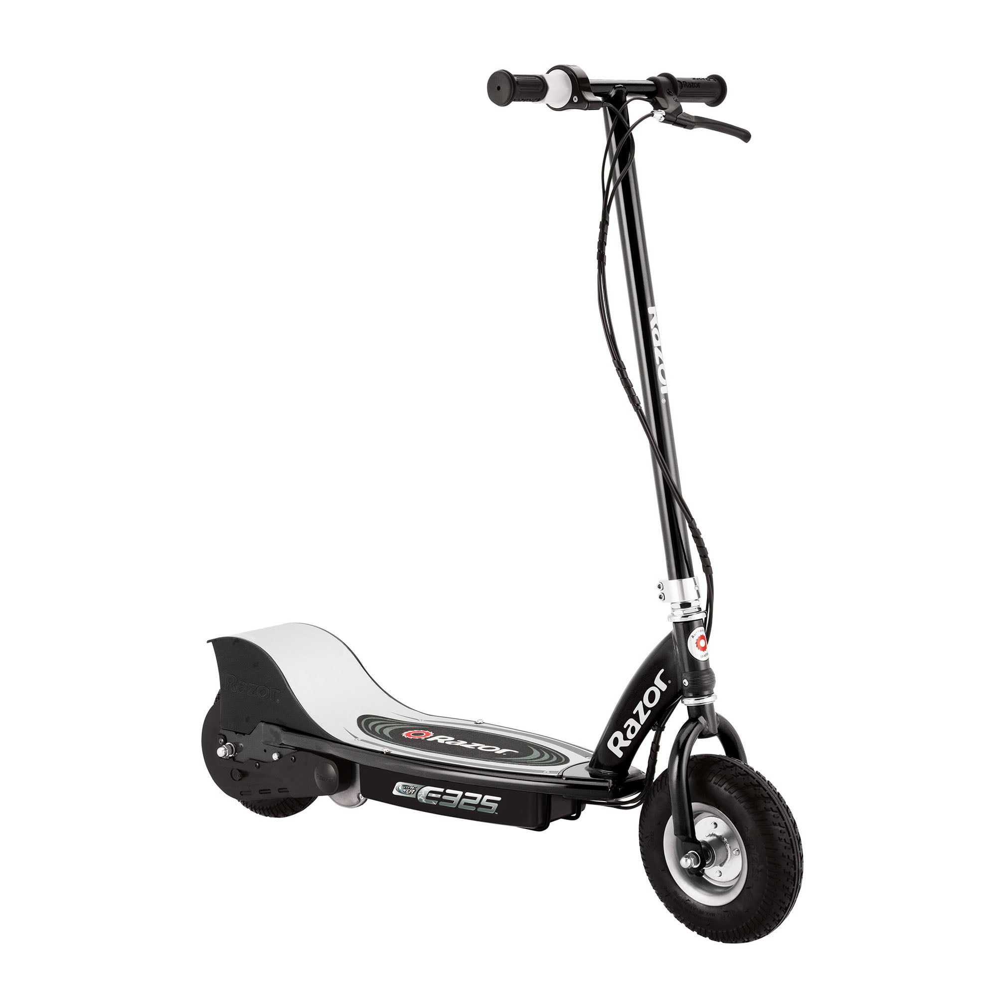 Razor E325 Electric Rechargeable 24 Volt Motorized Ride On Kids Scooter, Black by