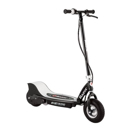 Razor E325 Electric Rechargeable 24 Volt Motorized Ride On Kids Scooter  Black