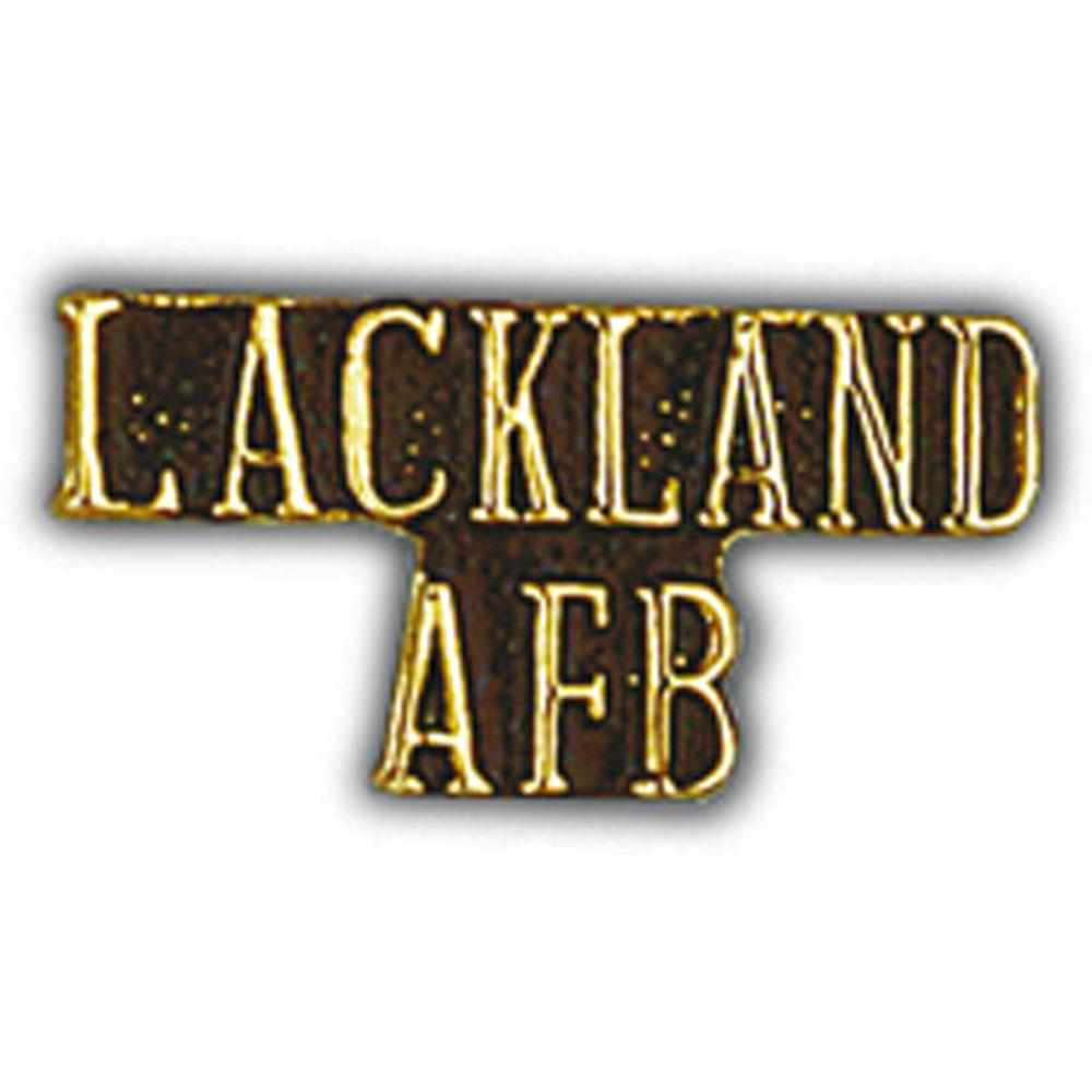 U.S. Air Force Lackland AFB Pin 1""