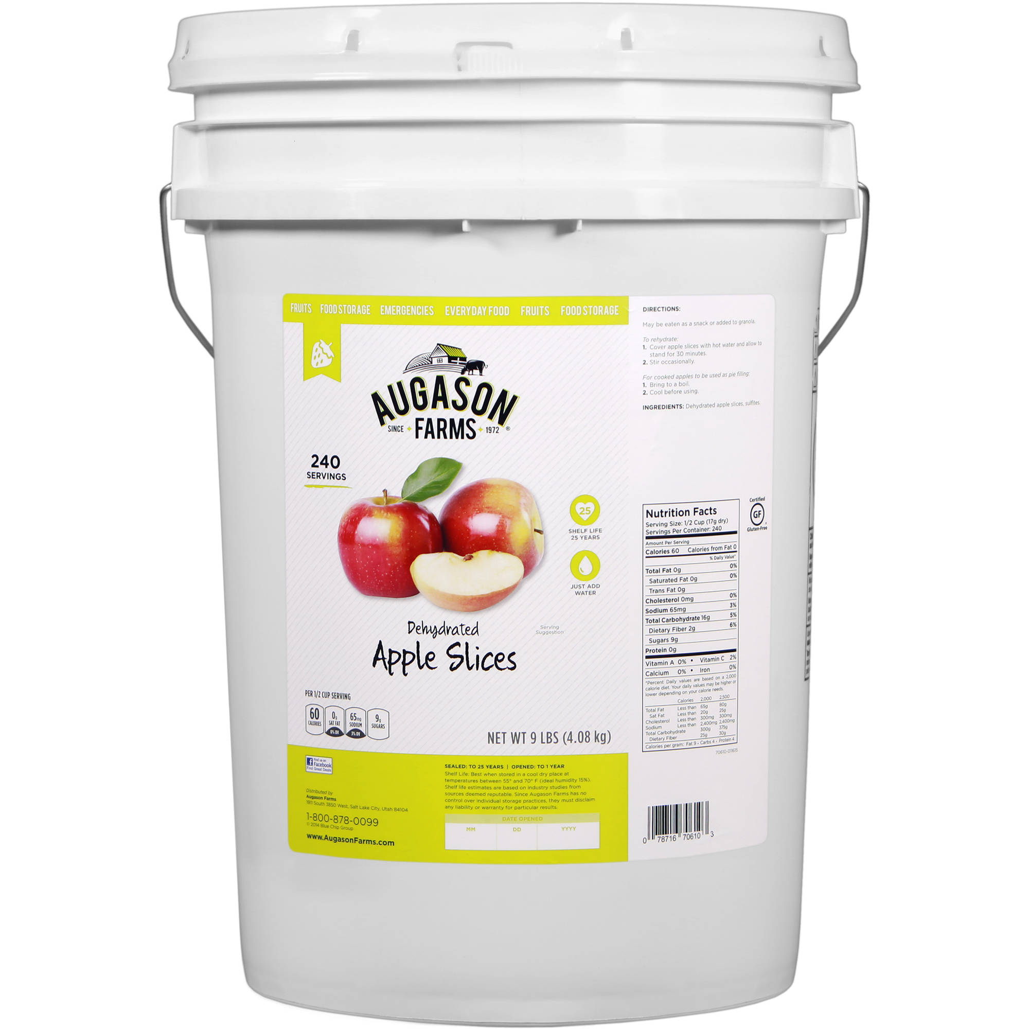 Augason Farms Emergency Food Dehydrated
