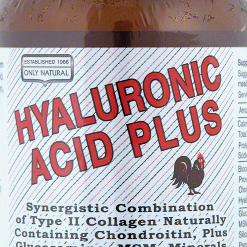 Only Natural Hyaluronic Acid Plus - 814 mg - 60 Tablets