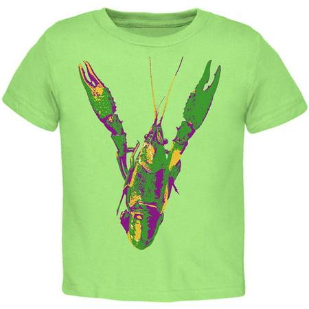 Mardi Gras Crawfish Toddler T Shirt](Madi Gras Outfits)