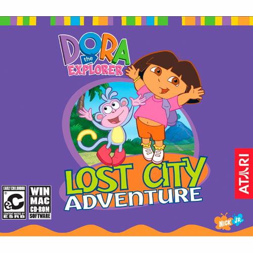 Dora the Explorer: Lost City Adventure PC Mac by