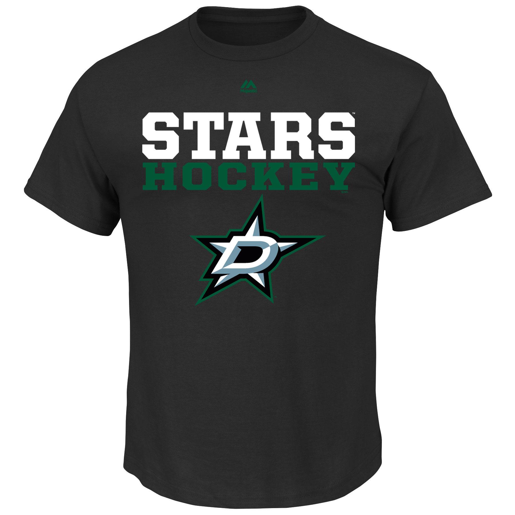 Dallas Stars Majestic Feel The Pressure T-Shirt - Black