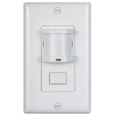 NICOR Occupancy Sensor with Passive Infrared Switch Decora Motion Sensor Occupancy Switch
