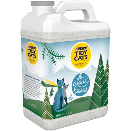This powerful cat litter combines two awesome brands for ultimate odor control with a fresh Glade scent. Purina Tidy Cats with Glade Tough Odor Solutions is only available in select Sam's Clubs, so be sure to check out your local Club for availability.