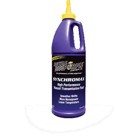 Trim Manual Transmission (Royal Purple 06512 Synchromax Manual Transmission Fluid 6-1Qt Case)