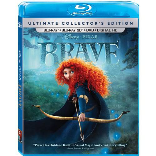 Brave (3D Blu-ray + Blu-ray + DVD + Digital HD)