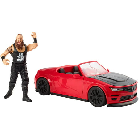 WWE Wrekkin' Slam Mobile with Braun Strowman 6-Inch Action Figure (Toy Wwe Weapons)