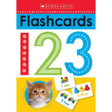 Write and Wipe Flashcards: 123 (Scholastic Early