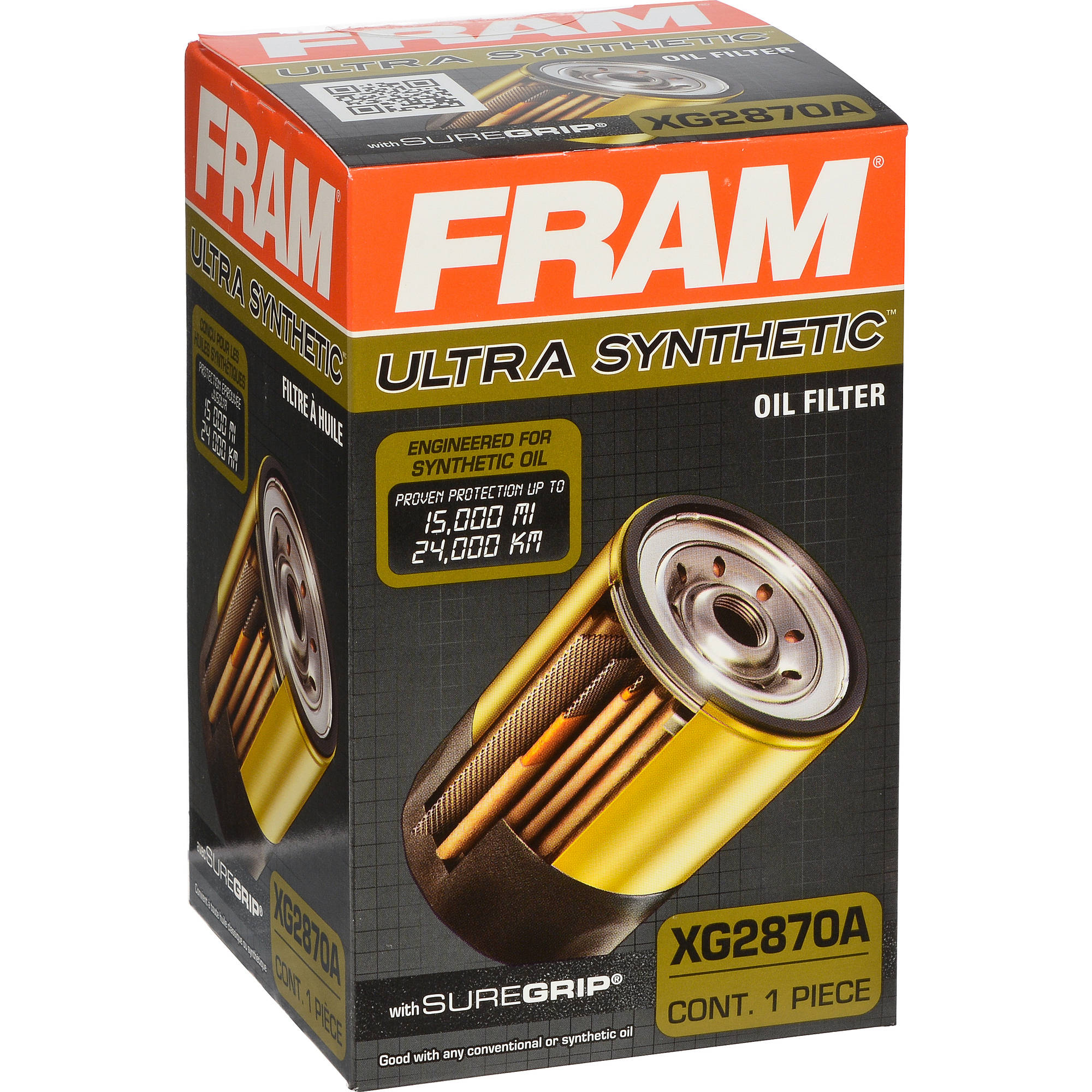 FRAM Ultra Synthetic Oil Filter, XG2870A