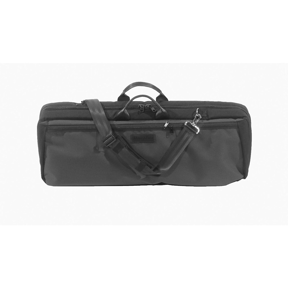 Mooradian Oblong Violin Case Slip-On Cover Black with Backpack Straps