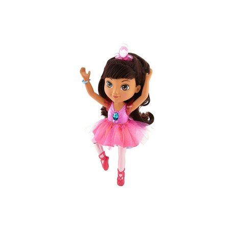 Fisher-Price Nickelodeon Dora & Friends, Sparkle & Spin Ballerina Dora, Kids can help Dora perform her most magical ballet moves! Press Dora down to see her lift and.., By FisherPrice Ship from