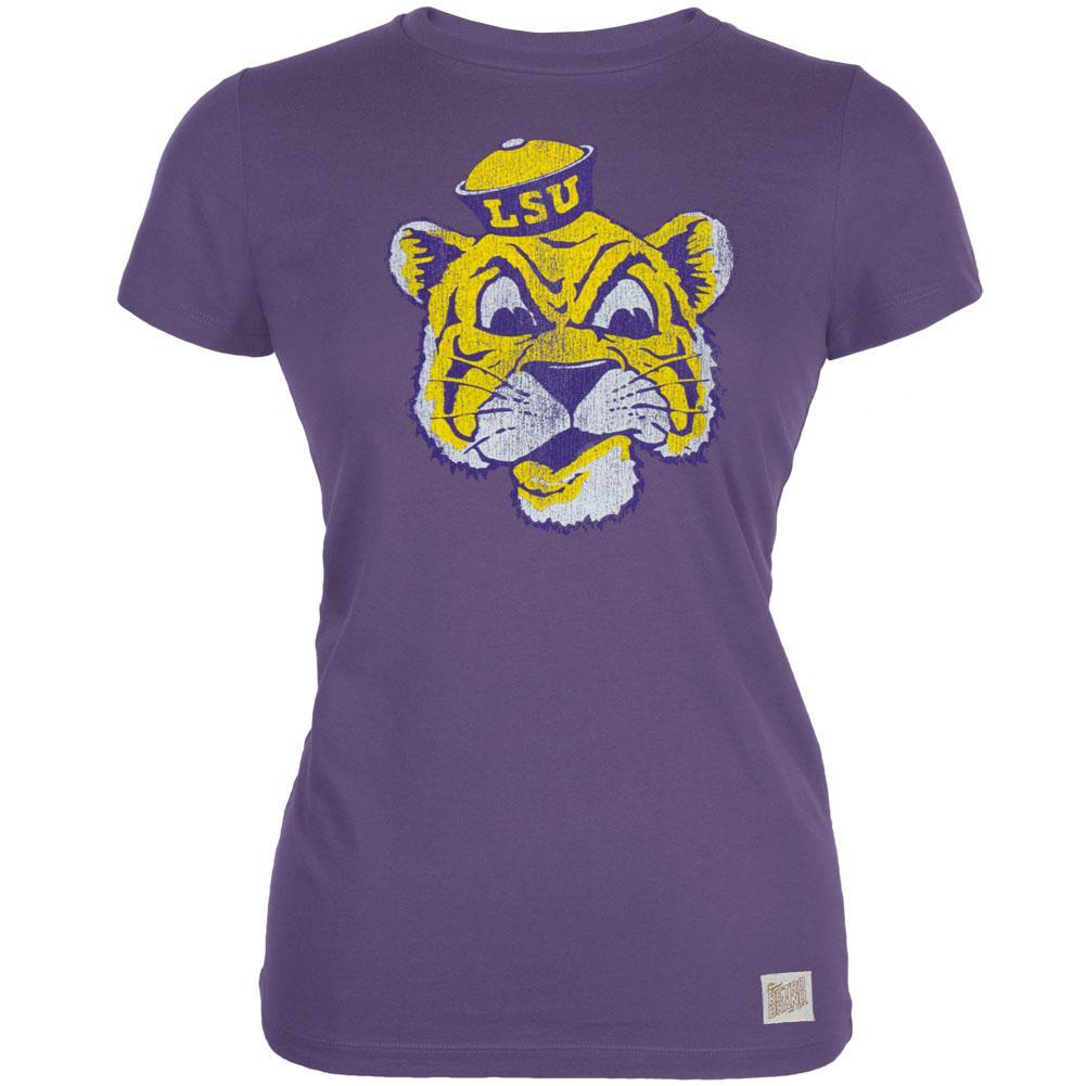 LSU Tigers - Grinning Tiger Vintage Juniors T-Shirt