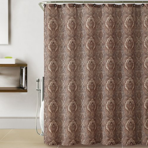 ***DISCONTINUED*** VCNY Home Anika 13 Piece Paisley Printed Shower