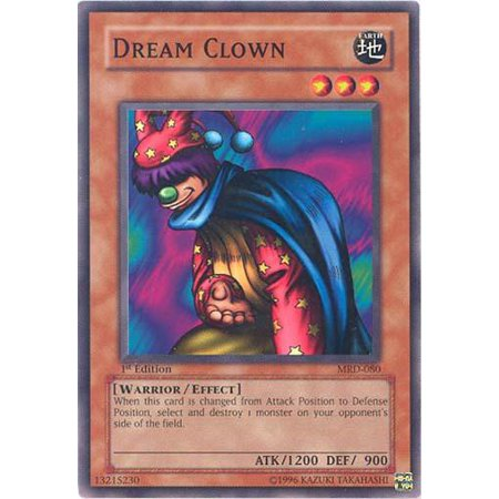 YuGiOh Metal Raiders Dream Clown MRD-080 - Twisted Metal Clown