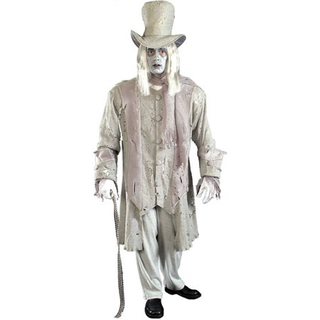 Ghostly Gentleman Adult Halloween Costume - One Size - Gentleman Ghost Costume