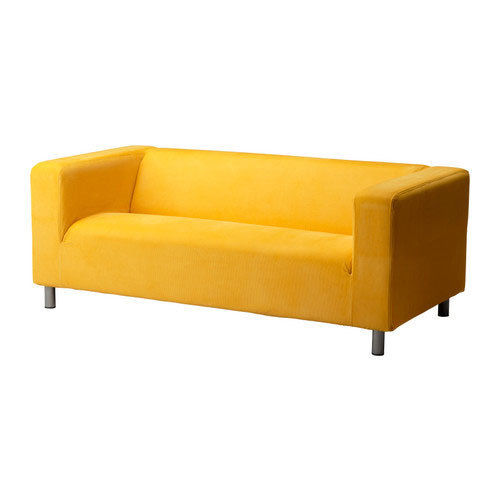Removable Sofa Slipcover Cover Fits Only For Ikea Klippan Sofa , Corduroy  Yellow