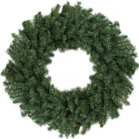 """24"""" Canadian Pine Artificial Christmas Wreath - Unlit - image 2 de 2"""