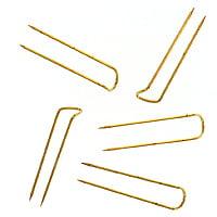 Jewelry Display Jeweler's Pins - 250 Brass U-Pins