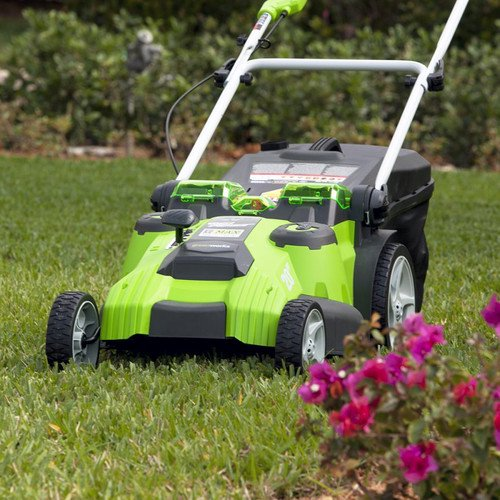 Greenworks 20-Inch 40V G-MAX Cordless Lithium-Ion 2-in-1