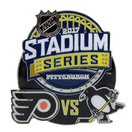 - 2017 NHL Stadium Series Dueling Pin - Flyers vs. Penguins