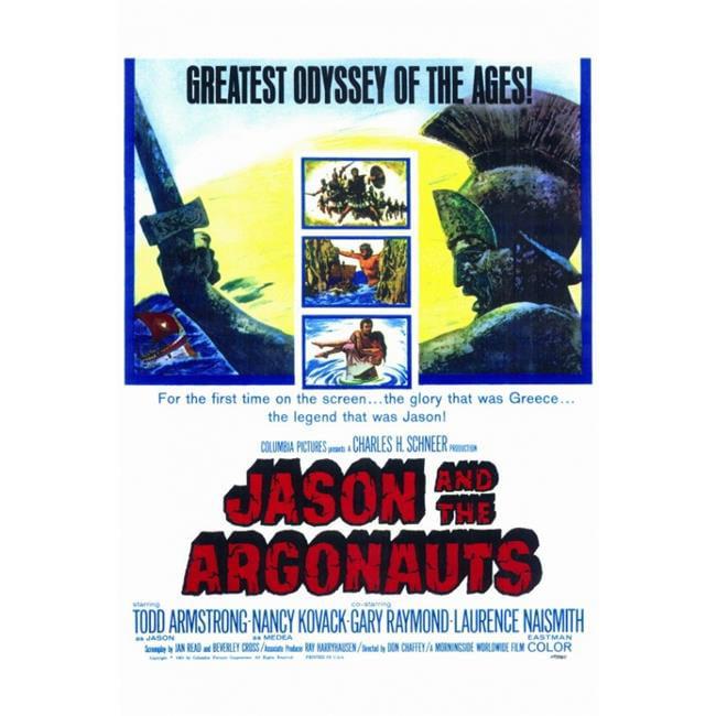 Jason /& the Argonauts vintage movie poster print
