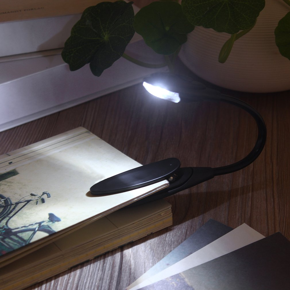 2018 Reading The Lamp Mini Flexible Clip-On Bright Book Light Laptop Led Book Reading Light Lamp by YKS