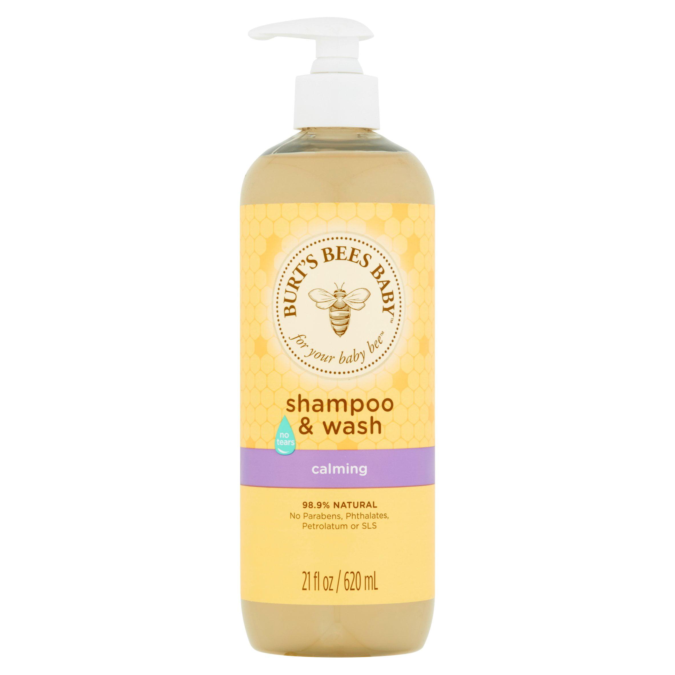 Burt's bees baby shampoo & wash, calming, 21 ounces